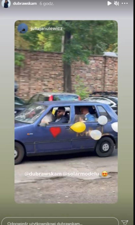 ślub Solara, fot. https://www.instagram.com/dubrawskam/ /Instagram