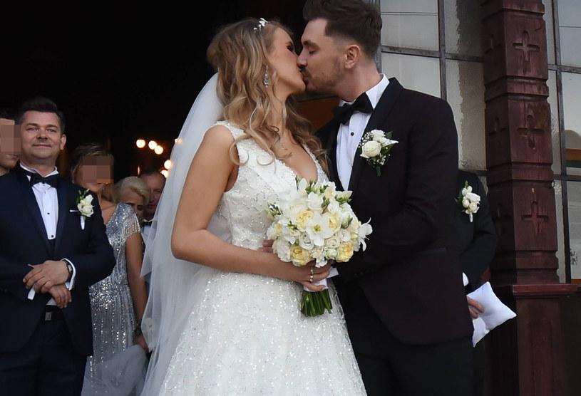 Ślub syna Martyniuka /Newspix