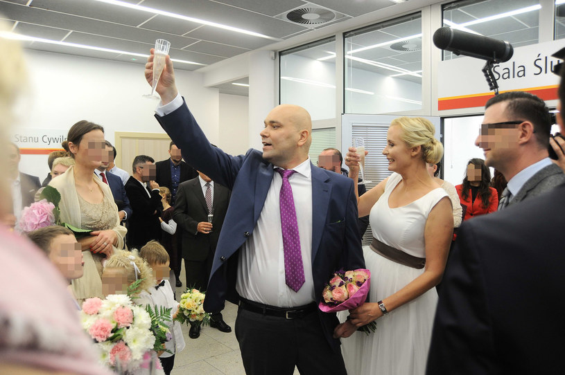 Ślub Tomasza Kality /- /East News