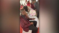 Ślub trwa, gdy nagle stało się to! Zobacz