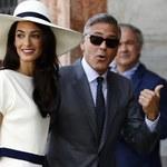 Ślubne zdjęcie George'a Clooneya