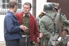 """Słuchacze RMF FM na planie """"Czasu Honoru"""" w klasztorze Bernardynów"""