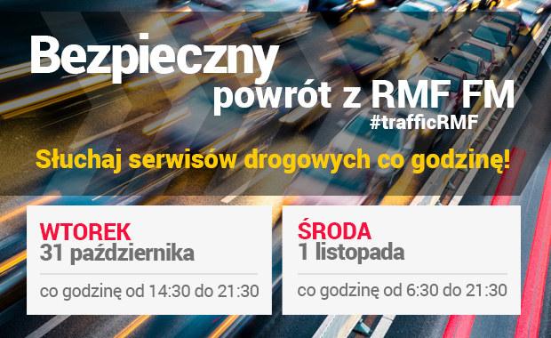 Słuchajcie specjalnych wydań serwisów drogowych w RMF FM. Relacja minuta po minucie także na RMF24.pl /RMF FM /RMF FM