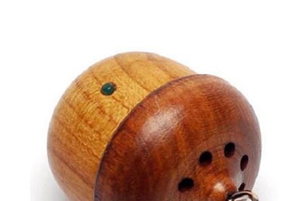 Słuchawka w kształcie orzecha? Nie tylko dla wiewiórek /materiały prasowe