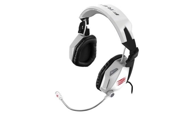 Słuchawki Mad Catz F.R.E.Q. 5 teraz także na biało /materiały prasowe