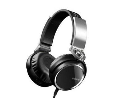 Słuchawki Sony z nowej serii MDR-XB