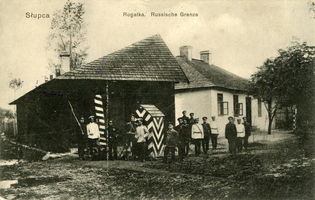 Słupca - granica zaboru rosyjskiego /Muzeum Niepodległości /East News