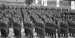 Grunwald, 15.07.1978. Przysięga żołnierzy na Polach Grunwaldzkich w 35. rocznicę przysięgi żołnierzy 1 Dywizji Piechoty im. Tadeusza Kościuszki