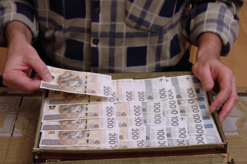 Służby apelują do seniorów, aby nie przekazywali pochopnie pieniędzy oszustom /Marek Bazak /East News