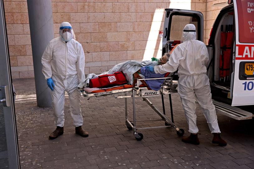 Służby medyczne w Izraelu; zdj. ilustracyjne /AFP