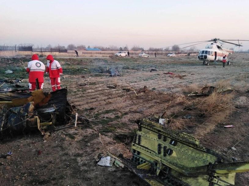 Służby na miejscu katastrofy ukraińskiego samolotu /AA/ABACA /East News