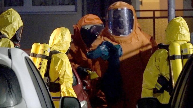 Służby na miejscu tragedii /MATTHIAS STRAUSS /PAP/EPA