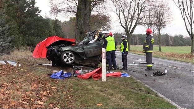 Służby na miejscu wypadku /Polsat News