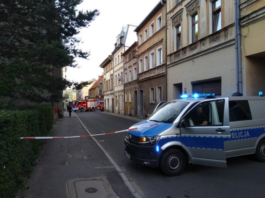 Służby na miejscu zdarzenia /Bartłomiej Paulus /RMF MAXXX