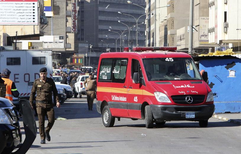 Służby na miejscu zdarzenia /AFP
