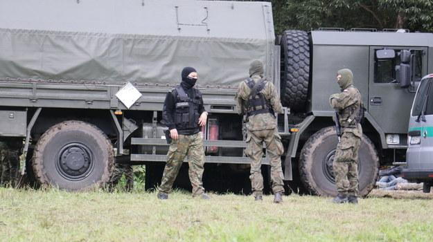 Służby przy granicy /Kuba Rutka /RMF FM