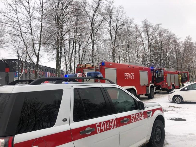 Służby ratownicze przed zakładzie, w którym doszło do wybuchu /Bieruń - Sprawy z Twojego Miasta  /materiały prasowe