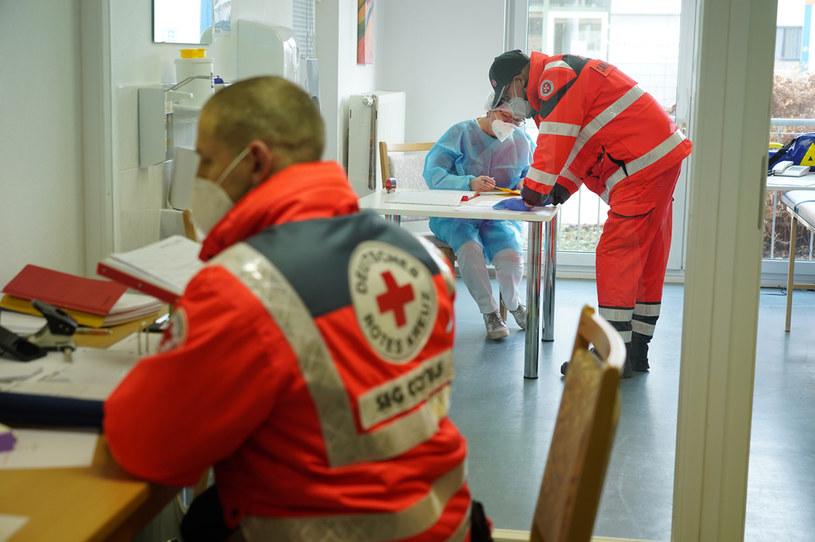 Służby ratownicze w czasie walki z koronawirusem w Niemczech / Sean Gallup /Getty Images