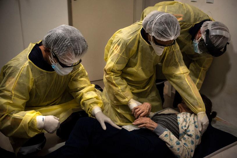 Służby ratunkowe w Brazylii / Gustavo Basso/NurPhoto /Getty Images