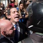 Służby w Wenezueli nie chciały wpuścić lidera opozycji do parlamentu
