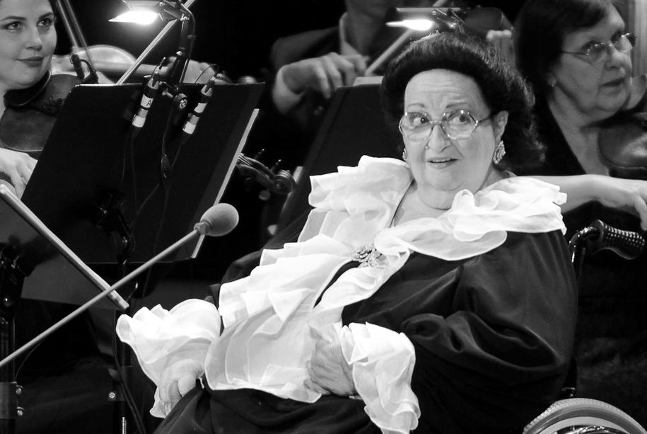 Słynna hiszpańska diva operowa Montserrat Caballe zmarła w nocy / Tatyana Valko /PAP/EPA