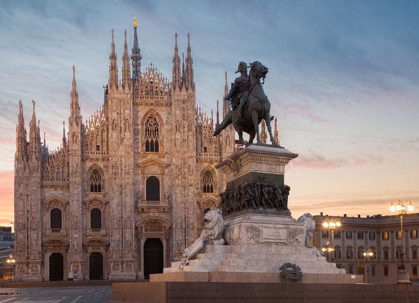 Słynna katedra w Mediolanie /123/RF PICSEL