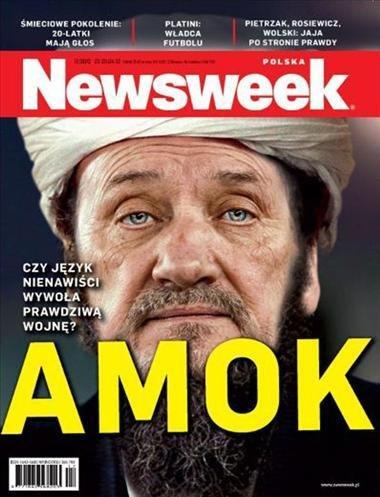 """Słynna okładka """"Newsweeka"""" /""""Newsweek"""" /INTERIA.PL"""