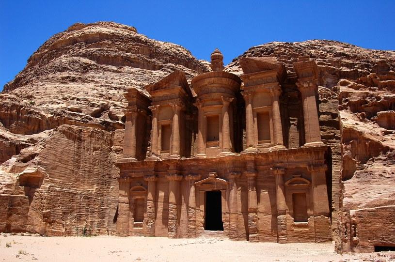 Słynna Petra w Jordanii /123/RF PICSEL
