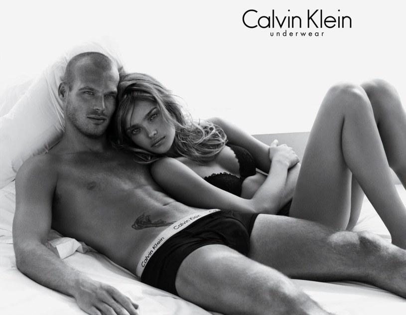 Słynna sesja Natalii Wodianowej i Fredericka Ljungberga /Calvin Klein /materiały prasowe