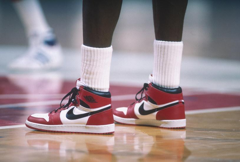 Słynne Air Jordany na nogach legendy - Michaela Jordana /Getty Images