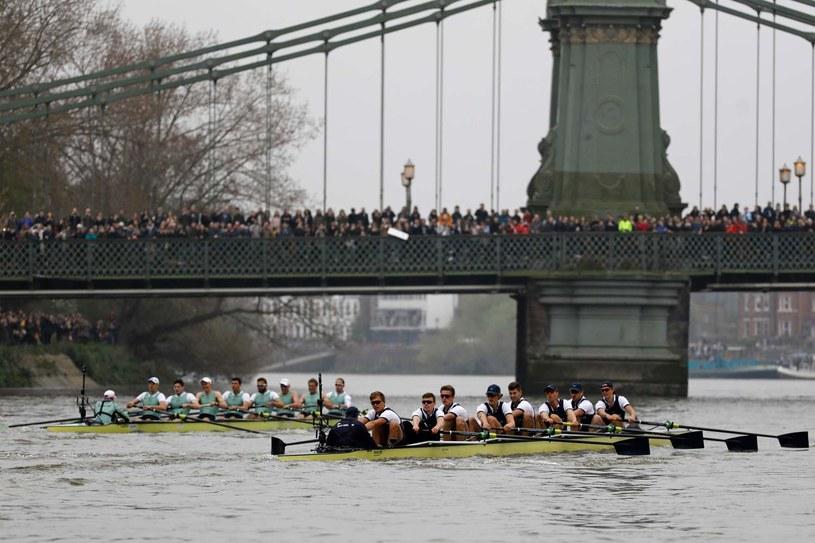 Słynne regaty Oxford-Cambridge /AFP