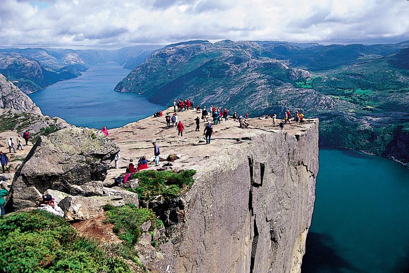 Norwegia Slynny Klif Zagrozony