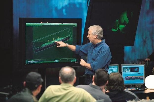 Słynny reżyser James Cameron prześledził przebieg katastrofy liniowca minuta po minucie. /Mat. Prasowe