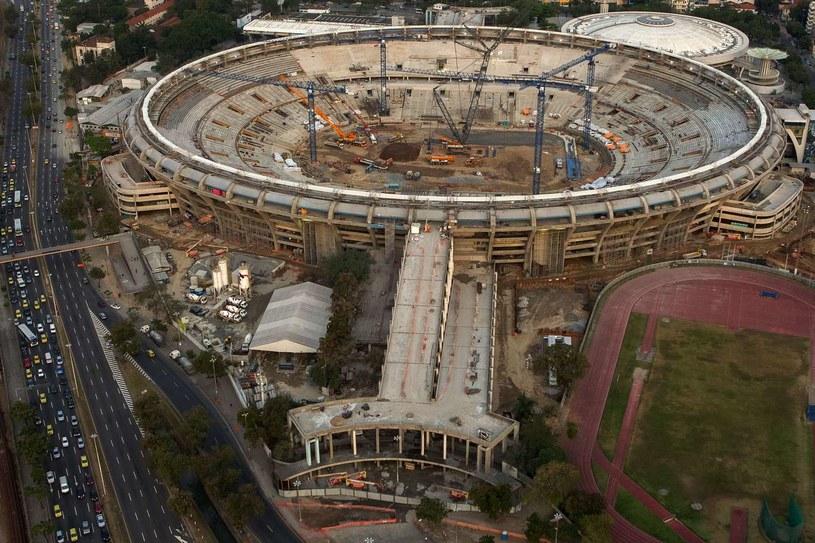 Słynny stadion Maracana jest przebudowywany na mundial 2014 /AFP