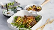 Słynny szwedzki klasyk: ziemniaki a'la Hasselback