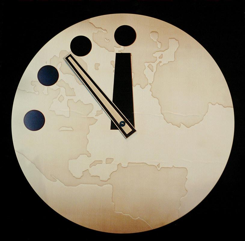 """Słynny """"zegar zagłady"""" /AFP"""