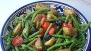 Smaczek na lato - salatka z pieczonych ziemniakow