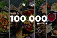 Smaker.pl przekroczył w ten weekend barierę 100 tys. przepisów
