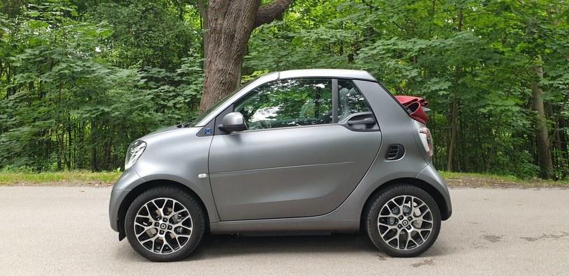 Smart EQ Fortwo cabrio /INTERIA.PL