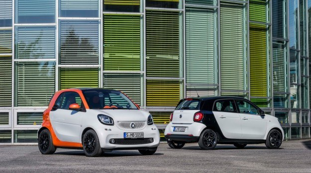 smart fortwo & forfour (2015) /smart