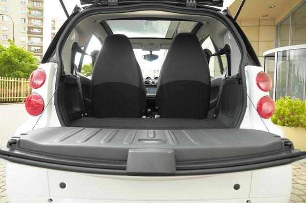 smart fortwo bagażnik /Motor
