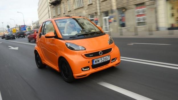 Smart Fortwo Cabrio Brabus Xclusive to gadżet dla majętnych klientów. /Motor