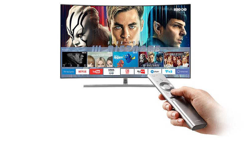 Smart Hub firmy Samsung - platforma smart TV stała się bardzo istotna dla polskich widzów /materiały prasowe