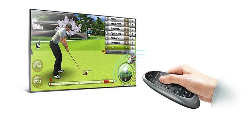 """Smart Hub Games Panel - rozbudowane gry """"w telewizorze"""". To nowość - Need for Speed w takiej wersji jeszcze nie było /materiały prasowe"""