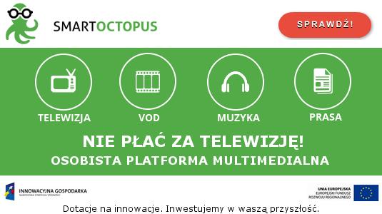 Smart Octopus platforma multimedialna /materiały prasowe