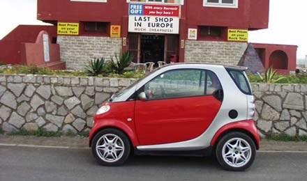 Smartem na Gibraltar /INTERIA.PL