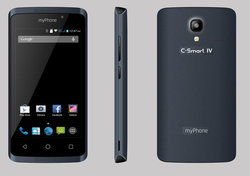 Smartfon myPhone C-Smart IV /materiały prasowe