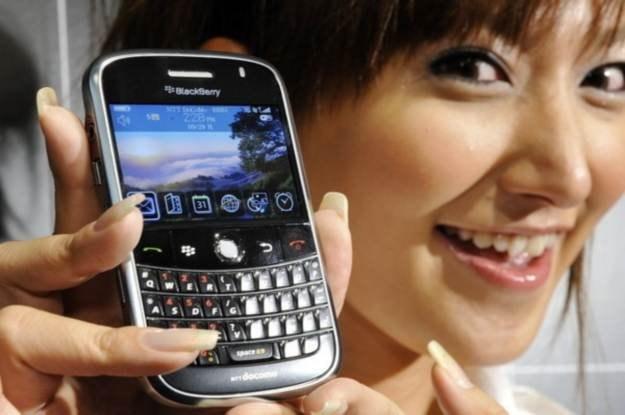 Smartfony BlackBerry zyskały popularność dzięki usłudze sieciowej /AFP
