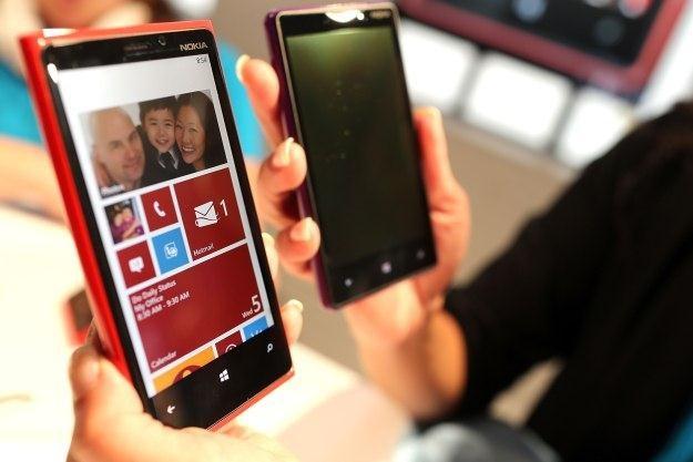Smartfony Lumia są dla Nokii ostatnią nadzieją /AFP