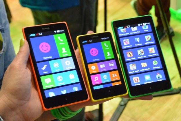 Smartfony Nokii z systemem Android - X, X+ oraz XL /INTERIA.PL